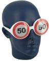 Verkeersborden bril 50 jaar